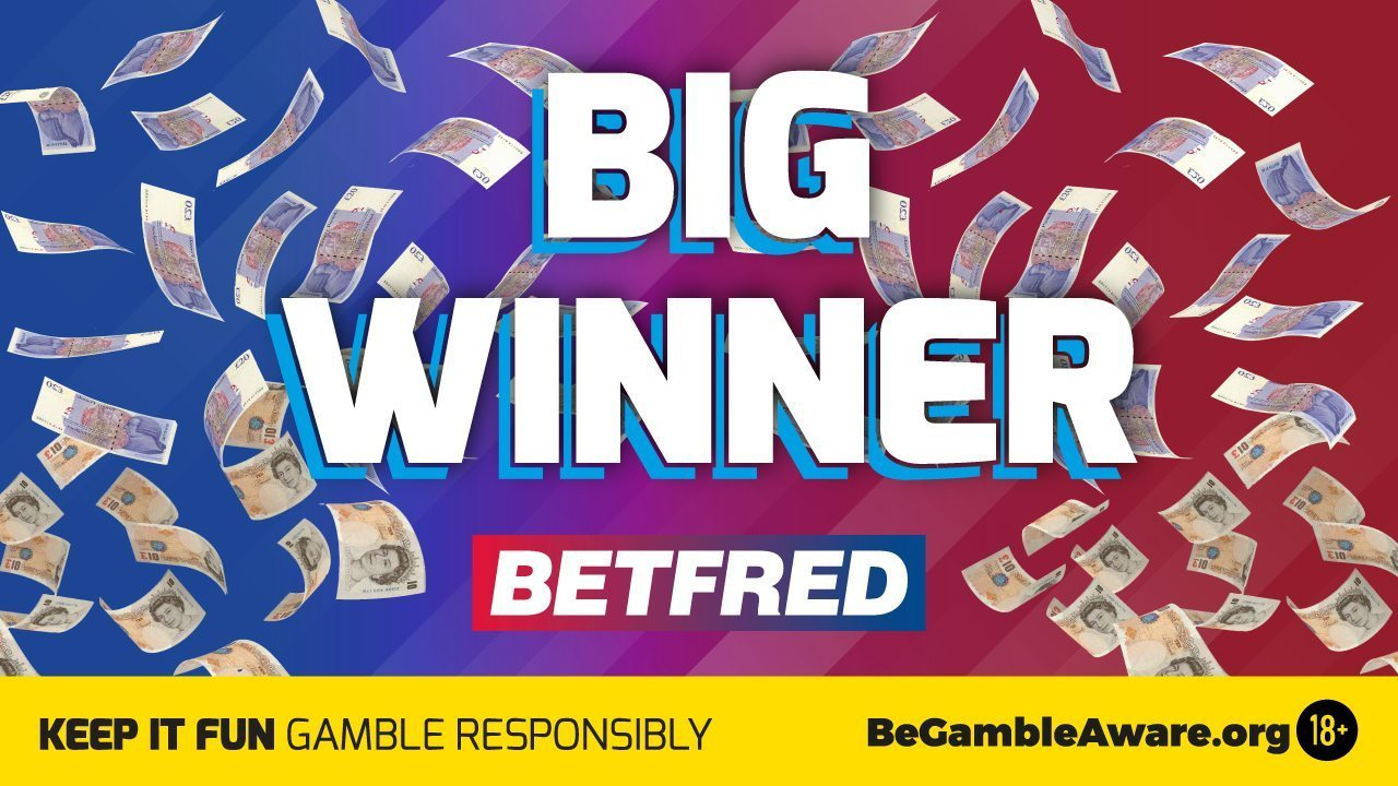 Betfred regular wins whopping £127,995 from £1 Lucky 15