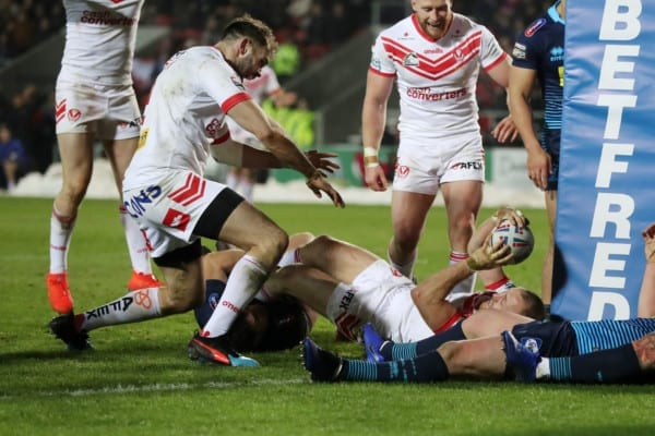 St Helens vs Wigan Warriors Betfred Super League