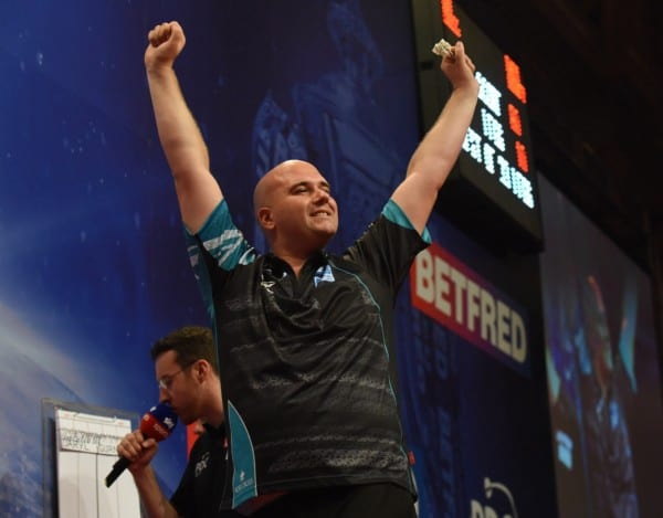 Rob Cross Betfred World Matchplay
