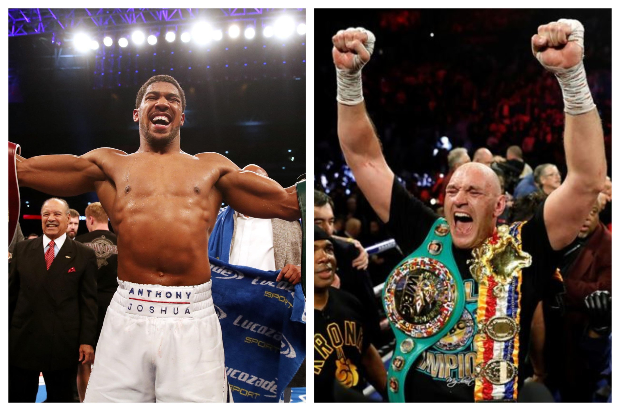 Anthony Joshua Tyson Fury