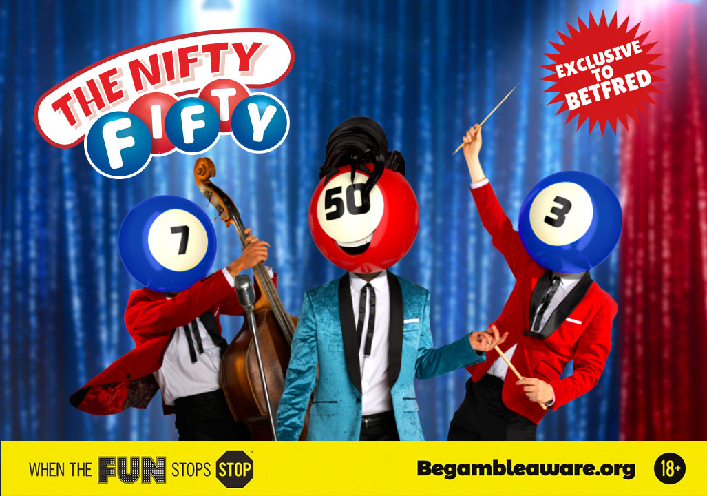 Nifty Fifty – Betfred Numbers Just Got Bigger and Better