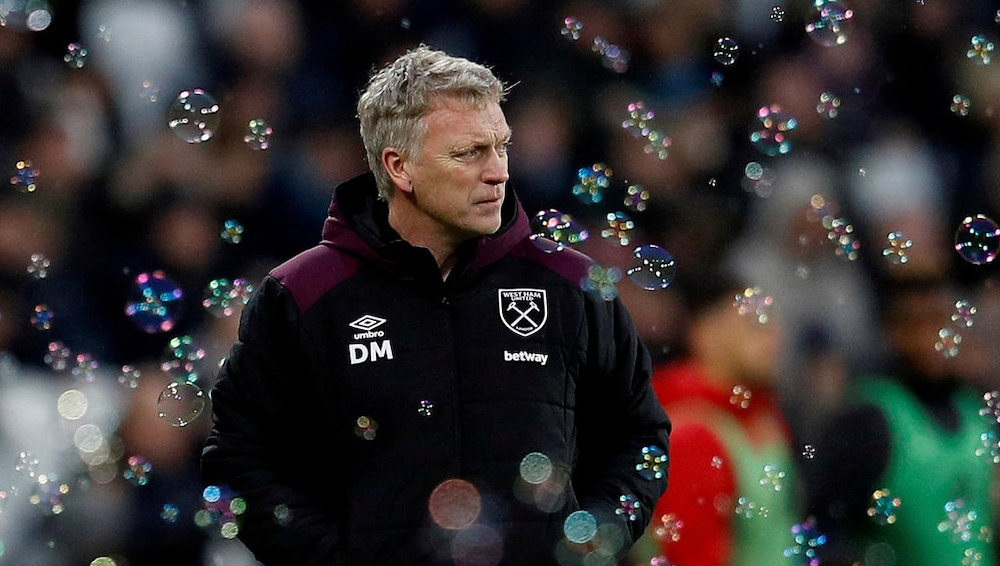 Moyes praises response as Hammers continue CL hunt