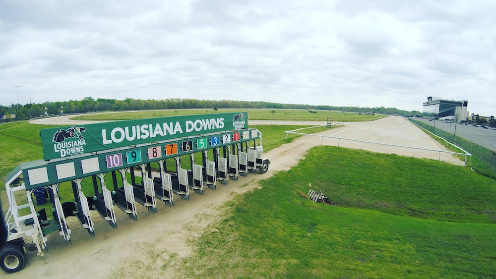 Louisiana Downs hosts seven races on Tuesday evening.